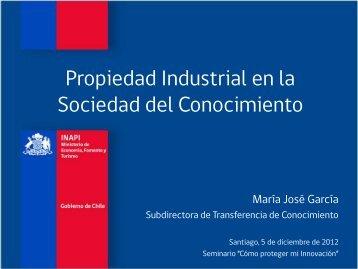 Propiedad Industrial e Innovación - Inapi Proyecta