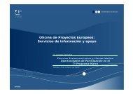 Servicios de información y apoyo - Euroblog - Universidad de Málaga