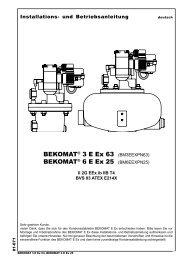 Installations- und Betriebsanleitung - Beko Technologies