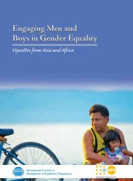 Engaging Men and Boys in Gender Equality - International Council ...