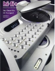 The Chord Blu CD Transport - Evalitec