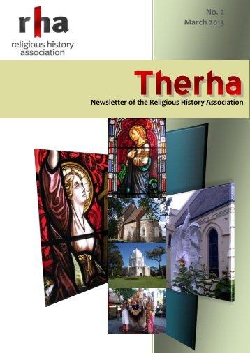 2(2013) - Religious History Association