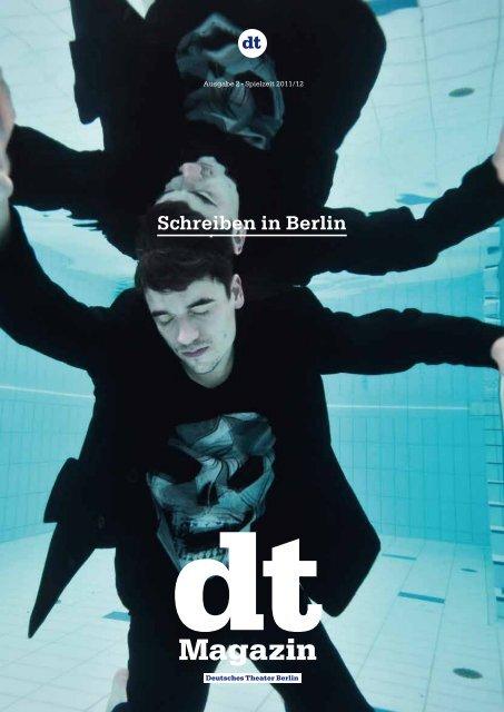DT Magazin | Ausgabe 2 -  Spielzeit 2011/12 - Deutsches Theater