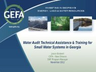Water Audit Technical Assistance & Training for Small Water ...