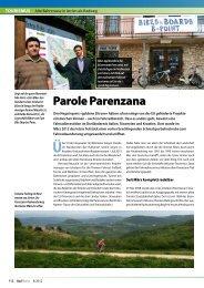 Parole Parenzana - La parenzana