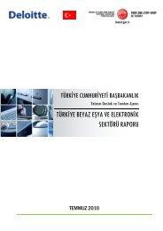 Beyaz Eşya ve Elektronik Sektörü Raporu - Invest in Turkey