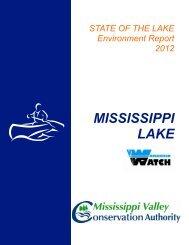MISSISSIPPI LAKE - Mississippi Valley Conservation