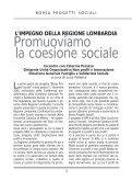 Borsa Progetti Sociali - Lombardia Mobile - Regione Lombardia - Page 5