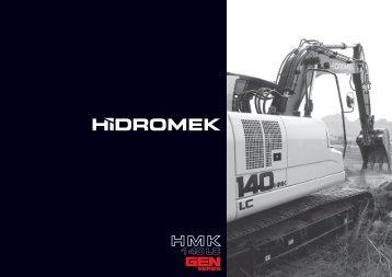 140 LC Gen de la série - Français Catalogue - Hidromek