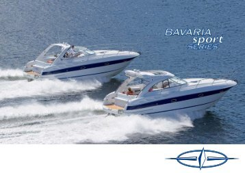 Production process and material employment - Bavaria Boats: HOME