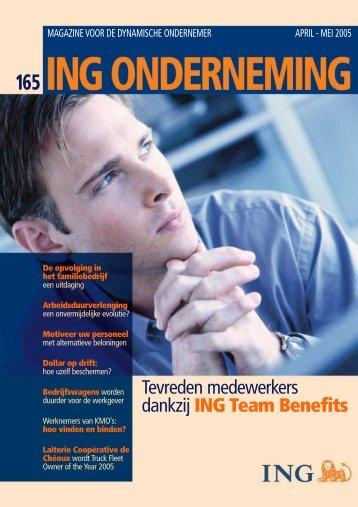 ing onderneming 165 - ING Belgium