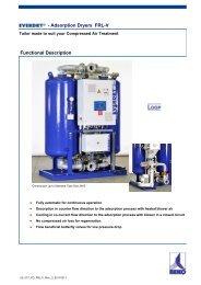 Adsorption Dryers FRL-V - BEKO TECHNOLOGIES GmbH