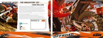 KTM Powerparts Offroad 2011