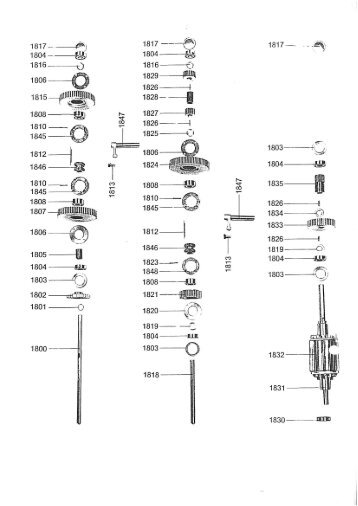 Parts Manual With Diagrams For Arboga A2608 Drill Hh Roberts