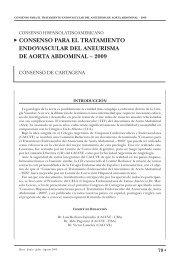 consenso para el tratamiento endovascular del ... - caccv.org.ar