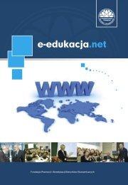 pobierz plik pdf - Rozwój e-edukacji w ekonomicznym szkolnictwie ...