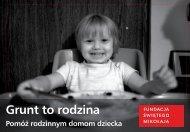 Fundusz Edukacyjny dla rodzinnych domów dziecka i rodzin ...