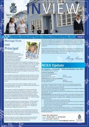 NCEA Update - nghs.school.nz