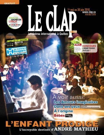 CONCOURS - Le Clap