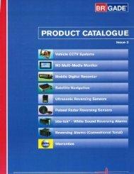 2009 Brigade Product Catalog US (PDF*)
