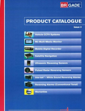 2009 Brigade Product Catalog US (PDF*)