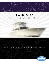 Brochure Twin Disc