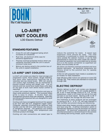 lo airear unit coolers bohn?quality\\\\\\\=85 bohn refrigeration wiring diagrams bohn freezer wiring diagrams russell evaporator wiring diagram at creativeand.co
