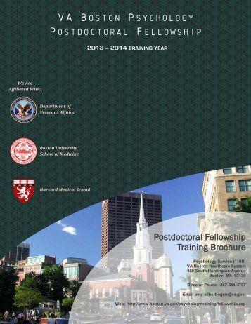 VA BOSTON PSYCHOLOGY POSTDOCTORAL FELLOWSHIP