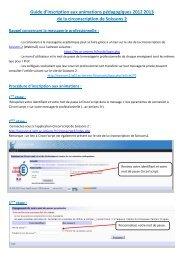Guide d'inscription aux animations pédagogiques 2012 2013 de la ...