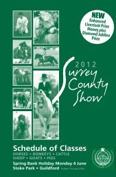 Schedule 12_Layout 1 - Surrey County Agricultural Society
