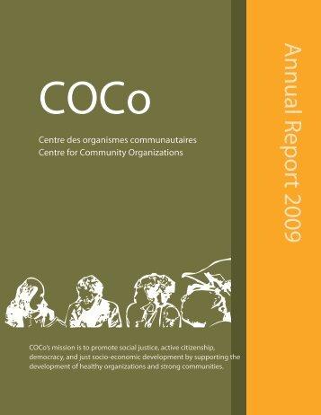 Annual Report 2009 - COCo