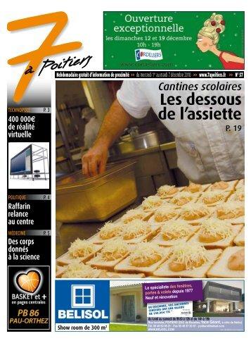 n° 57 voir ce numéro - 7 à Poitiers