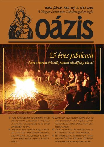 25 éves jubileum - Magyar Schönstatt Család