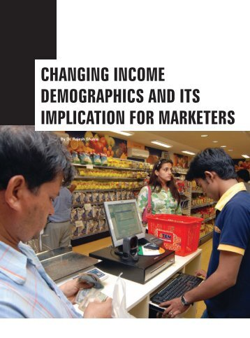 changing income demographics and its ... - Only Downloads