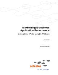 Maximizing E-business Application Performance - Quest Software