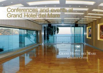 Conferences and events at Grand Hotel del Mare
