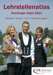 Lehrstellenatlas Hamburger Osten 2013 - Billenetz