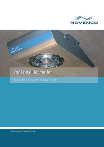Yeni nesil jet fanlar
