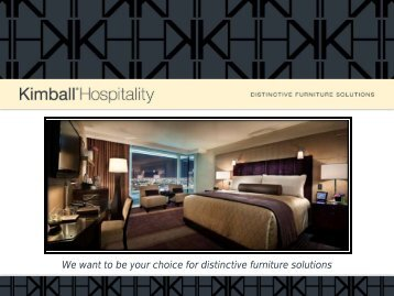 information about our services - Kimball Hospitality