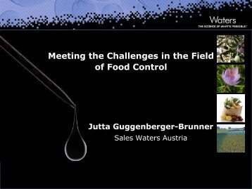 Challenges Food-Waters - Quality Austria