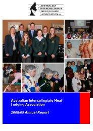 US Trip Report - Australian Intercollegiate Meat Judging Association