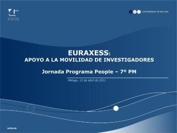 EURAXESS - Euroblog - Universidad de Málaga