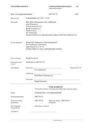 Barn- och ungdomsnämnden 2007-03-13 1 - Grästorps kommun