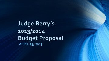 2013/2014 Budget Presentation - Hardin County Government
