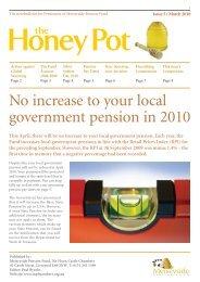 Honey Pot 5 - THE LOCAL GOVERNMENT PENSION SCHEME