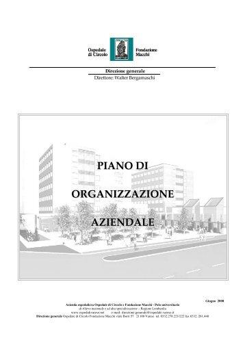 Piano di Or - Ospedale di Circolo e Fondazione Macchi