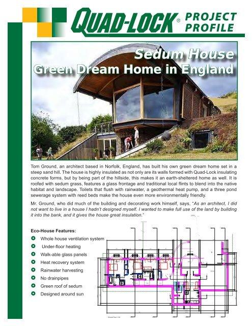 PROJECT PROFILE - Quad-Lock Building Systems