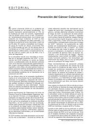 Prevención del Cáncer Colorrectal E D I T O R I A L - Revista Clínica ...