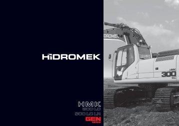 300 LC LR Gen Serisi - Türkçe Katalog - Hidromek