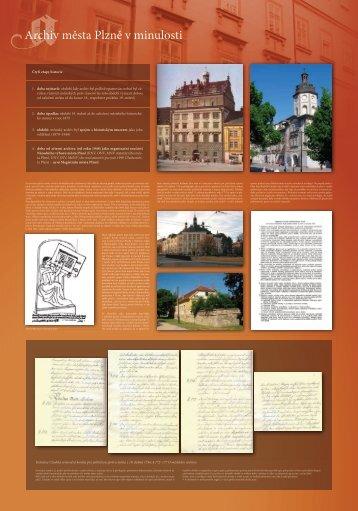 Výstavní panely (náhled) - pdf, 7,3 MB - Archiv města Plzně - Město ...